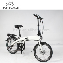 DIY electric folding bike for Europe 20inch foldable electric bicycle with hidden battery