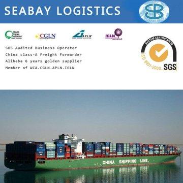 Companhia de custo de transporte de contêiner confiável da China para países Cis (Turquemenistão / Uzbequistão / Azerbaijão / Armênia / Afeganistão)