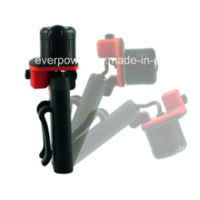 Clip on Zoom LED Flashlight with Magnet Base (HL-15YM01)