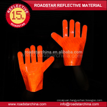 2 colors available traffic reflective glove