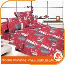 Вышитые простыни тяжелом весе набор ткани для двуспальной кровати