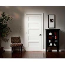 Portas de estilo tradicional Portas de MDF branco painel MDF interior