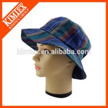 Kundenspezifische Blumen-Eimer-Hüte mit Flecken-Logo