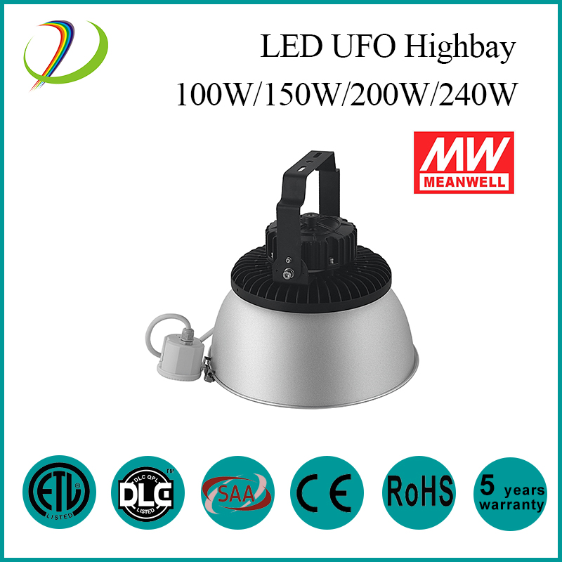 150w UFO High Bay with Microwave Sensor