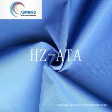 80% Polyester 20% Coton Tissu Uniforme Simple