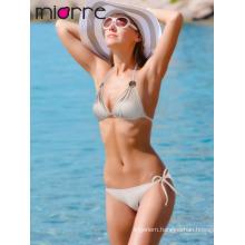 Miorre Neck Tie Women Swimwear Bikini