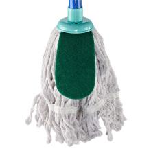 Высококачественная чистящая швабра для заправки с круглой головкой, белая 100% хлопок