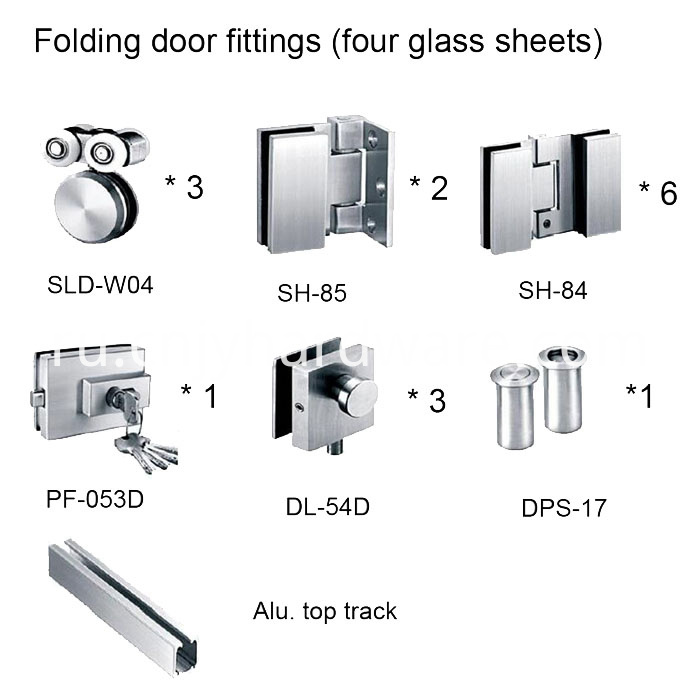 Exterior Glass Floding Door