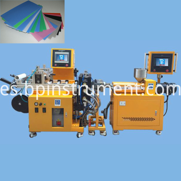 plastic sheet extrusion line 1