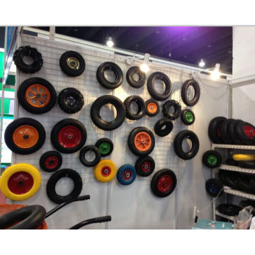 Solid PU Foam Wheel, PU Solid Wheel Barrow Tire 4.00-8