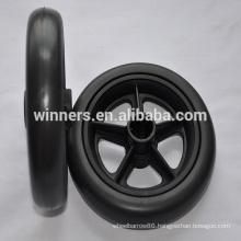 6 inch wide plastic baby pram wheel