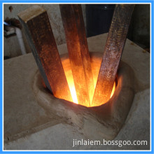 Portable IGBT Scrap Brass Induction Melting Furnace (JLZ-110KW)