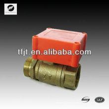 CWX-1.0 Válvula de bola eléctrica de 2 vías con actuador de motor para agua fría