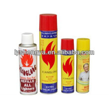 urified butane gas for lighter / butane refill fuel / butane refill can