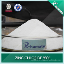98%Min Battery Grade and Industry Grade Zinc Chloride