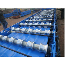 cold rolled steel roofing machine