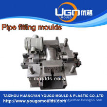 Plastic mold supplier for standard size pvc pipe elbow fittings injection mould in taizhou China