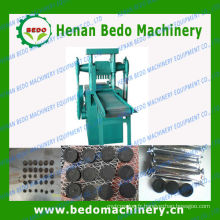 Chine chaud fournisseur haute loué faible consommation machine de presse à comprimés de charbon de bois
