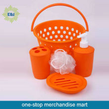 Reisen Bad-Produkt-set ORANGE