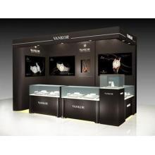 Moda estilo reloj kiosco decoración diseño