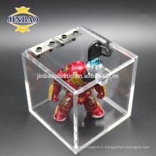 Jinbao nouveau design personnaliser clair cristal présentoir fleur acrylique floral stand