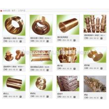 cuivre roue cuivre anneau cuivre poulie cuivre baril produits de moulage de cuivre