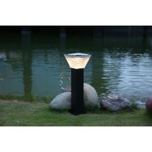 Luz de jardín LED solar blanca cálida
