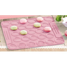 Placemat do bolo do silicone do retângulo (RS32)