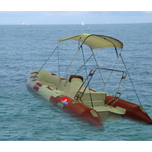 Rippenboot / starres Schlauchboot 4,2 m mit Konsole und F15HP (RIB420B)