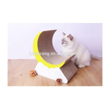 Factory supply fashion corrugated cardboard pet cat scratcher lounge toys durable cardboard cat scratcher CT-4049