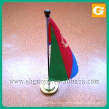 Drapeaux de bureau promotionnel, drapeaux de chaîne, drapeaux de main personnalisés