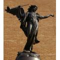 statue d'ange ailé de haute qualité en bronze