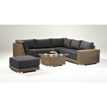 Сад Wicker Lounge установить открытый диван мебель патио