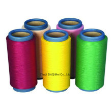 Fournisseur fils de filaments Polyester 100 % DTY 75D-600 d