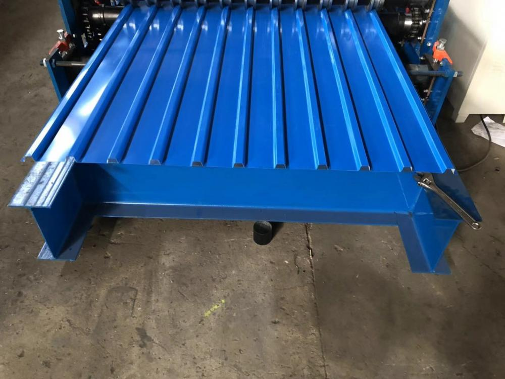 double IBR sheet roll forming machine