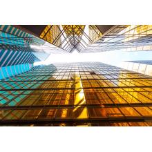 Wirtschaftliche hochwertige Stahlkonstruktion Glasfassade