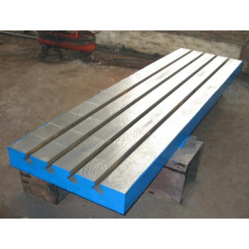 Cast Iron Flat Plate with T Slot