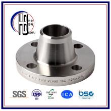 Flange de aço inoxidável apropriada hidráulica ASTM do pescoço da soldadura com melhor preço