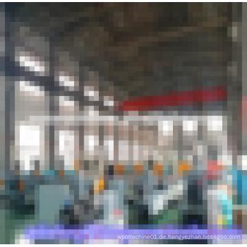 Qingdao Hegu Holz Kunststoff Profil Produktion Maschine für die Herstellung von wpc Produkt
