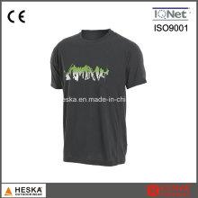 OEM Mens manches courtes coton imprimé T-Shirt