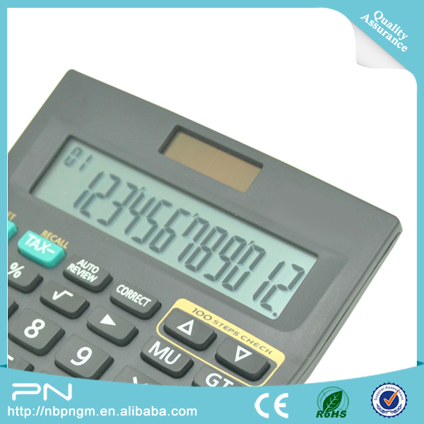 Office Solar Power Desktop Financial Calculator