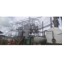 Machine de raffinage d'huile usée de distillation de recying