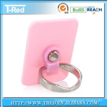 decorative metal ring silver plated ring holder for phone
