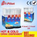 Máquina de la bebida fría comercial 10L * 2 2bowl