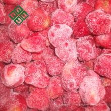 délicieux fraise congelée de légumes surgelés