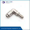 NPT Threaded Stainless Steel Male Tee Tube Fitting