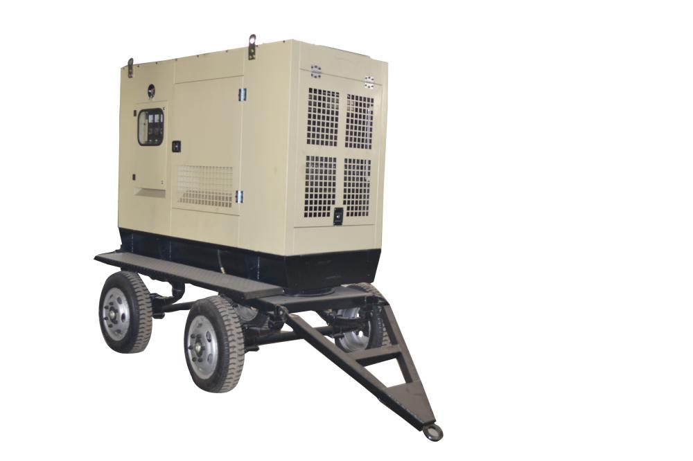 Competitive Price for Trailer Mounted 50KW Generator