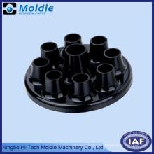 Черные пластиковые литья часть с китайского