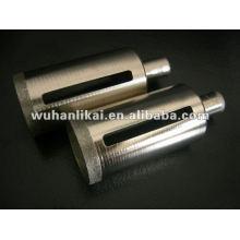 bouts de marteau de diamant plaqué par galvanoplastie