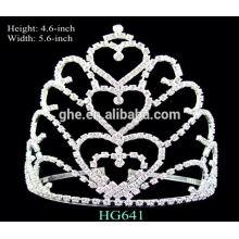 Buena fábrica del servicio directamente tiara wedding